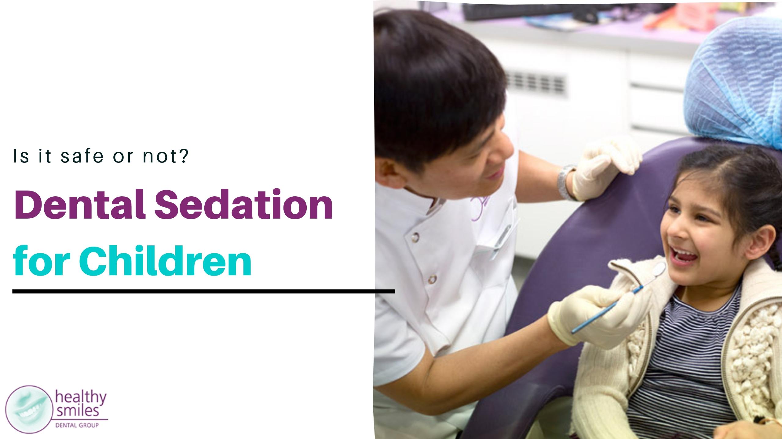Sleep Dentistry for Kids