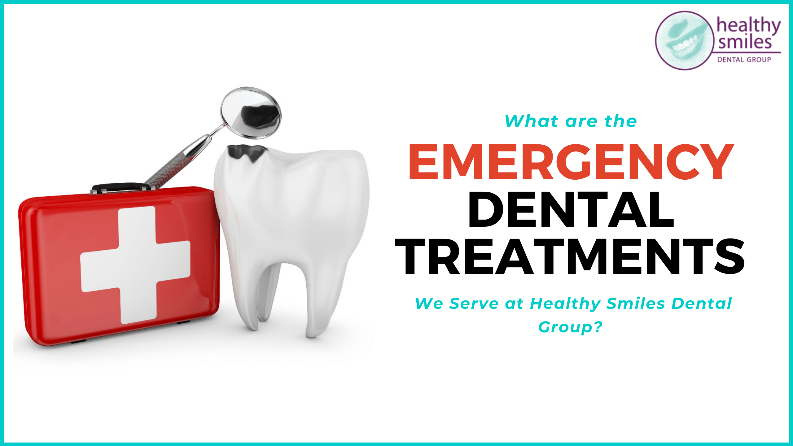 Emergency dental treatments