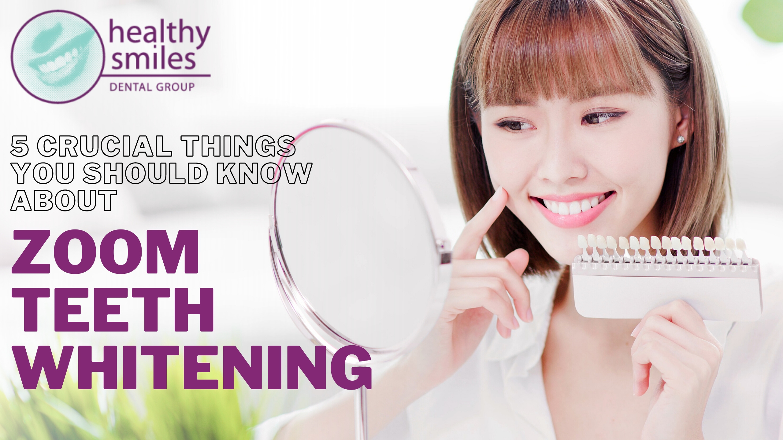 5 Crucial Things You Should Know About Zoom Teeth Whitening