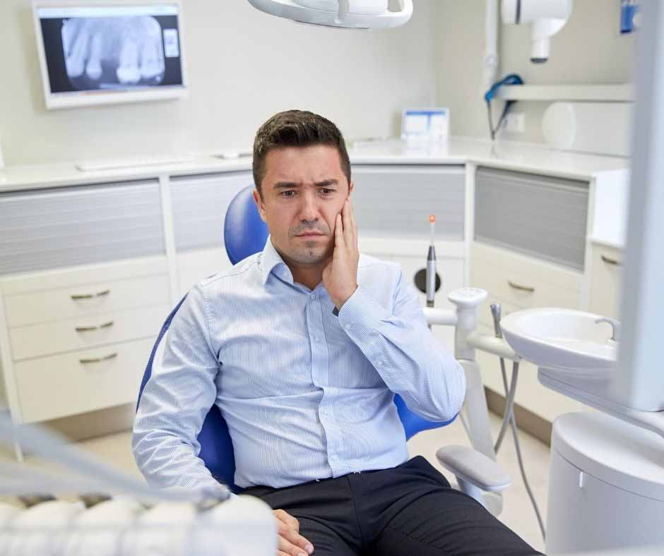 dental anxiety due to bad dental experiences in past