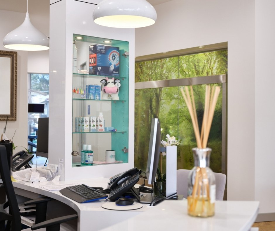 Relaxing Lounge Area and Treatment Rooms-blackburn dentists