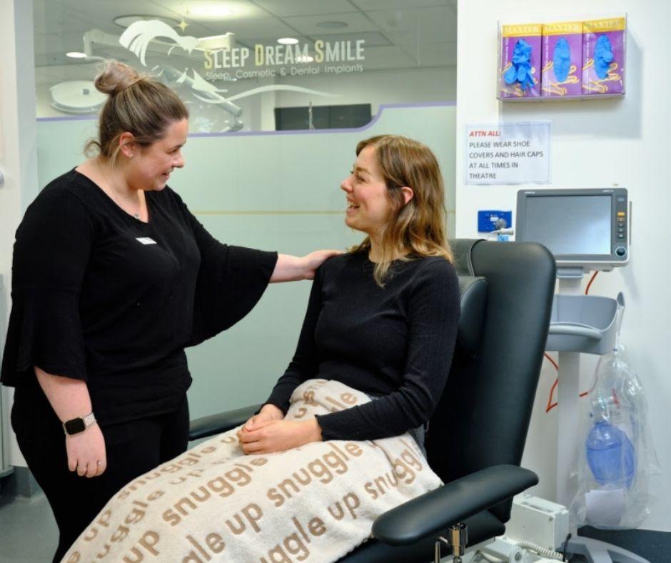 Snuggle blankets at dentist in Blackburn--7 Star Customer Service in Blackburn