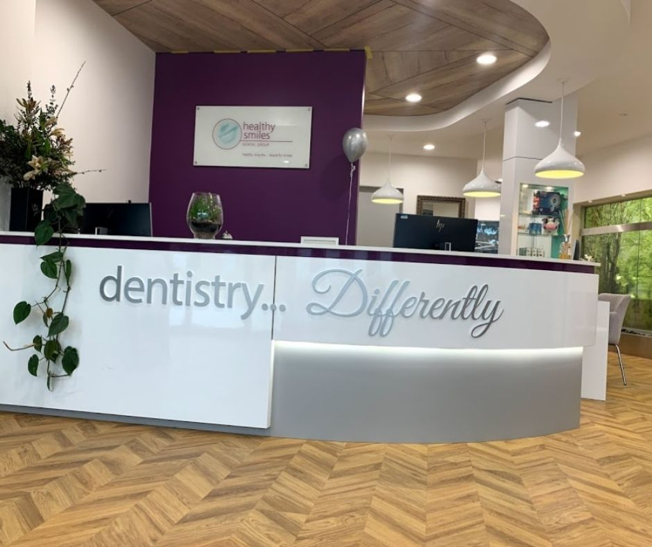 Healthy Smiles Lounge area-dentist blackburn